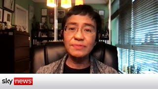 NOBEL Nobel Peace Prize: Journalist Maria Ressa first Filipino to win award