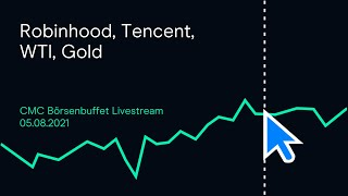 WTI CRUDE OIL Robinhood, Tencent, WTI, Gold (Livestream-Mitschnitt)