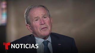 W El expresidente George W. Bush aboga por un trato más compasivo de la inmigración en EE.UU.