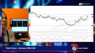 USD/CAD Flash Forex : Analyse USD/CAD