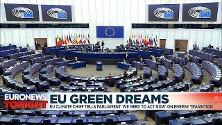 TRANSITION SHARES EU climate chief tells parliament: 'We need to act now!' on energy transition