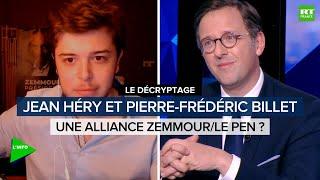 Présidentielle 2022 : une alliance Zemmour/Le Pen est-elle possible ?