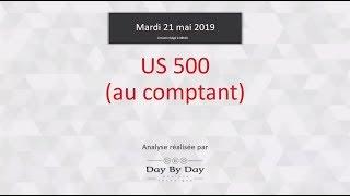 S&P500 Index Vente US 500 - Idée de trading IG 21.05.2019