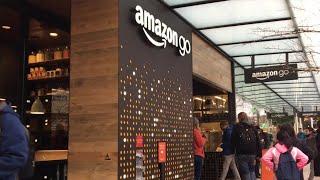 AMAZON.COM INC. Amazon Go Store Opens In Seattle