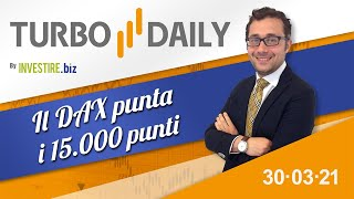 DAX30 PERF INDEX Turbo Daily 30.03.2021 - Il Dax punta i 15000 punti