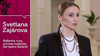 Svetlana Zajárova, primera bailarina del teatro Bolshói - Entrevista en RT