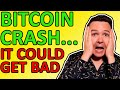 WHY'S BITCOIN CRASHING? COULD THE BTC PRICE DROP FURTHER? Here's My Bitcoin Analysis Today