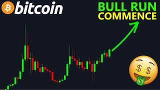 BITCOIN BITCOIN LE BULL RUN COMMENCE ... ET SERA PUISSANT !? btc analyse technique crypto monnaie
