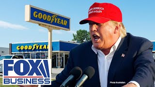 THE GOODYEAR TIRE & RUBBER CO. A Goodyear boycott would 'squander' opportunity for Trump: Expert