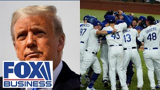 Every time Dodgers win World Series, Republicans win White House: Luntz