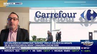 CARREFOUR Sylvain Macé (Carrefour): Carrefour/Couche-Tard, une opération purement financière à éviter