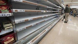 Crisis de abastecimiento en Reino Unido por la escasez de camioneros