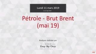 BRENT CRUDE OIL Idée de trading : achat Pétrole - Brut Brent échéance mai 2019