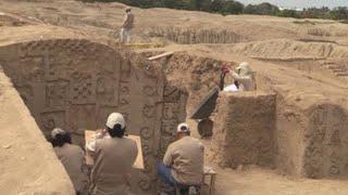 ADOBE INC. Arqueólogos hallan nuevos murales en la mayor ciudad precolombina de adobe