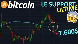 BITCOIN BITCOIN 7.600$ SI CE SUPPORT CASSE !? btc analyse technique crypto monnaie