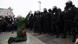 Demonstrationen in Russland: Tausende Festnahmen gemeldet