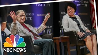 Trump Says Sotomayor, Ginsburg Must 'Recuse Themselves' From Cases Related To Him | NBC Nightly News