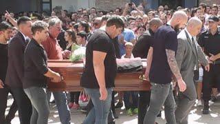 Despiden en Argentina al futbolista Emiliano Sala