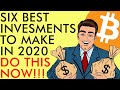 6 BEST INVESTMENTS TO MAKE IN 2020 | DO THIS NOW