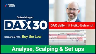 AMP LIMITED DAX aktuell: Analyse, Trading-Ideen & Scalping | DAX30 | CFD Trading | DAX Analyse | 28.01.2021
