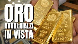 GOLD - USD ORO: tutto pronto per un nuovo rialzo