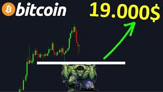 BITCOIN BITCOIN CHUTER POUR MIEUX MONTER AUX 19.000$ !? btc analyse technique crypto monnaie