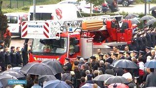 Indrukwekkend eerbetoon aan omgekomen Belgische brandweermannen - RTL NIEUWS