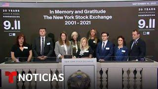 DOW JONES INDUSTRIAL AVERAGE Wall Street rindió homenaje a los caídos en los ataques terroristas del 11 de septiembre