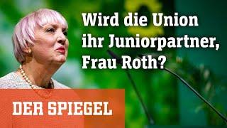 Claudia Roth im »Spitzengespräch«: Wird die Union Ihr Juniorpartner, Frau Roth?