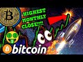 BITCOIN ALL TIME HIGH TODAY!!?!! 🚀  BTC HIGHEST MONTH CLOSE EVER!!! EXTREME VOLATILITY!!!!