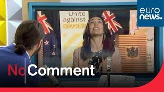 Séisme en pleine interview pour la Première ministre néo-zélandaise