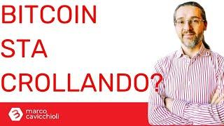 BITCOIN Bitcoin sta crollando?