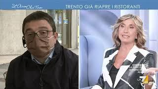 """Maurizio Fugatti: """"Ho riaperto prima sulla base di una redazione scientifica, il governo poi ..."""