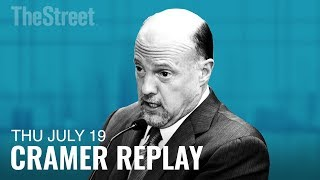 NUCOR CORP. Jim Cramer on Larry Kudlow, Tariffs, Nucor, IBM and Domino's Pizza
