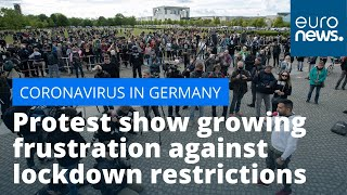 Lockdown backlash: Protest show growing frustration against restrictions in Germany