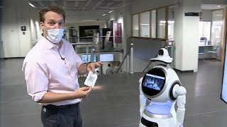 Coronavirus: Belgium hospital employs robot to protect against COVID-19