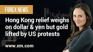 GOLD - USD Forex News: 01/06/2020 - Hong Kong relief weighs on dollar & yen but gold lifted by US protests