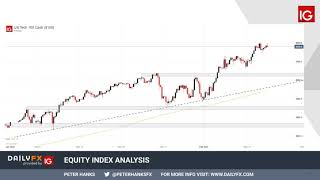FTSE 100 Dow Jones, DAX 30 and FTSE 100 Forecasts