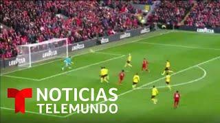 Mohamed Salah marcó como todo un 'crack' para darle la victoria al Liverpool ante el Watford