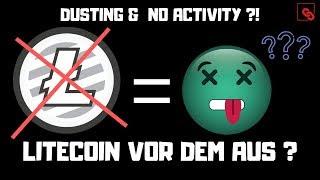 """LITECOIN Litecoin vor dem Aus? Charlie Lee offenbart """"Keine Aktivität und Entwicklung bei Litecoin!"""""""