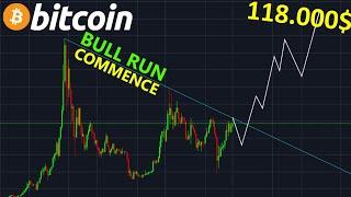 BITCOIN BITCOIN 118.000$  LE TOP DU PROCHAIN BULL RUN !? btc analyse technique crypto monnaie
