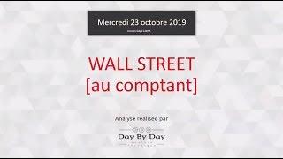 DOW JONES INDUSTRIAL AVERAGE Idée de trading : vente Wall Street [au comptant]