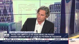 FACEBOOK INC. Laurent Solly (Facebook): Facebook Shops permet aux marques de vendre leurs produits