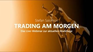 GOLD - USD Trading am Morgen - Mi. - 13.11.2019 - DAX, DOW, Gold, Devisen, Öl, Bund-Future