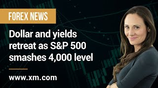 S&P500 INDEX Forex News: 02/04/2021 - Dollar and yields retreat as S&P 500 smashes 4,000 level