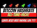 BITCOIN Hashrate All Time High! ETH | IOTA | ADA | RIPPLE XRP | Bullish News und Updates