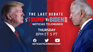AMP LIMITED The Final 2020 Presidential Debate: Joe Biden & Donald Trump (Full Debate - ENGLISH) | Noticias