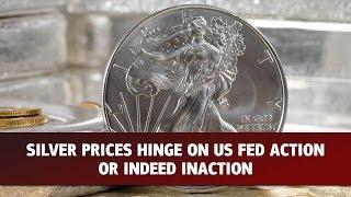 SILVER Subida de taxas afecta prata
