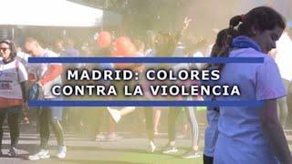 Madrid: Colores contra la violencia