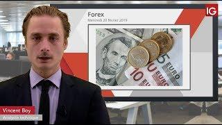 EUR/USD Bourse   EURUSD, Fed dans la journée, BCE demain   IG 20 02 2019